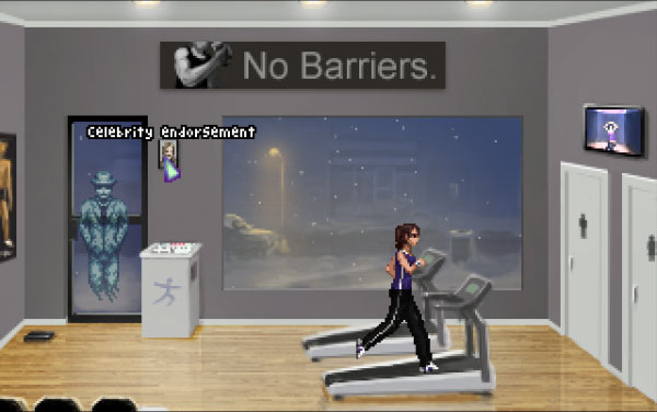 Have Joey take a good look at the picture of Tanya Corsey in Field's Gym.