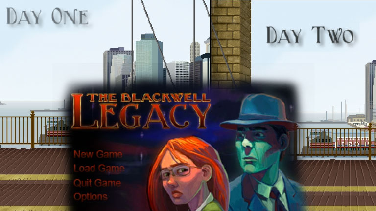 Detailed walkthroughs and Steam Achievements Guide for The Blackwell Legacy.